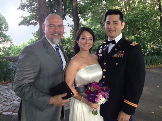 Wedding Couple with NYC Officiant