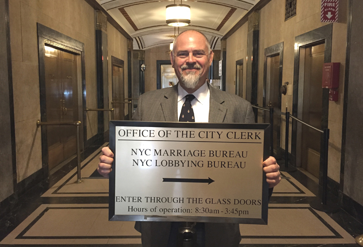 NYC Wedding Bureau at City Clerks Office