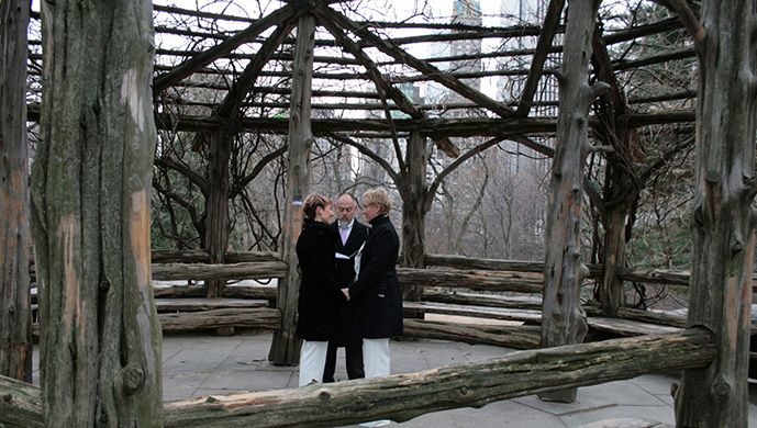 Central Park Elopement at Cop Cot