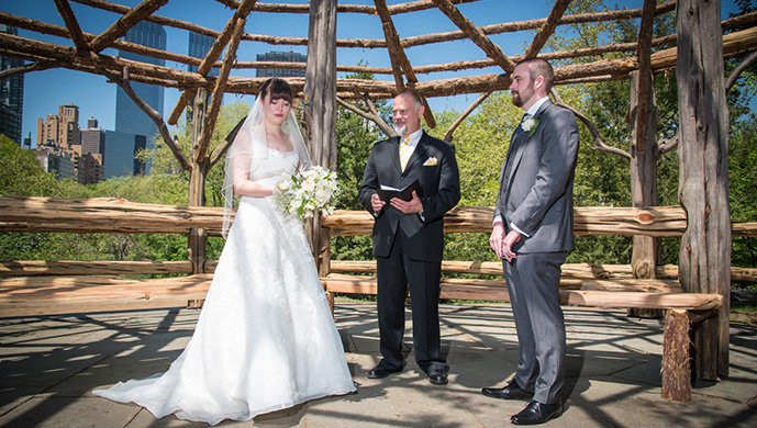 Central Park Wedding at Cop Cot